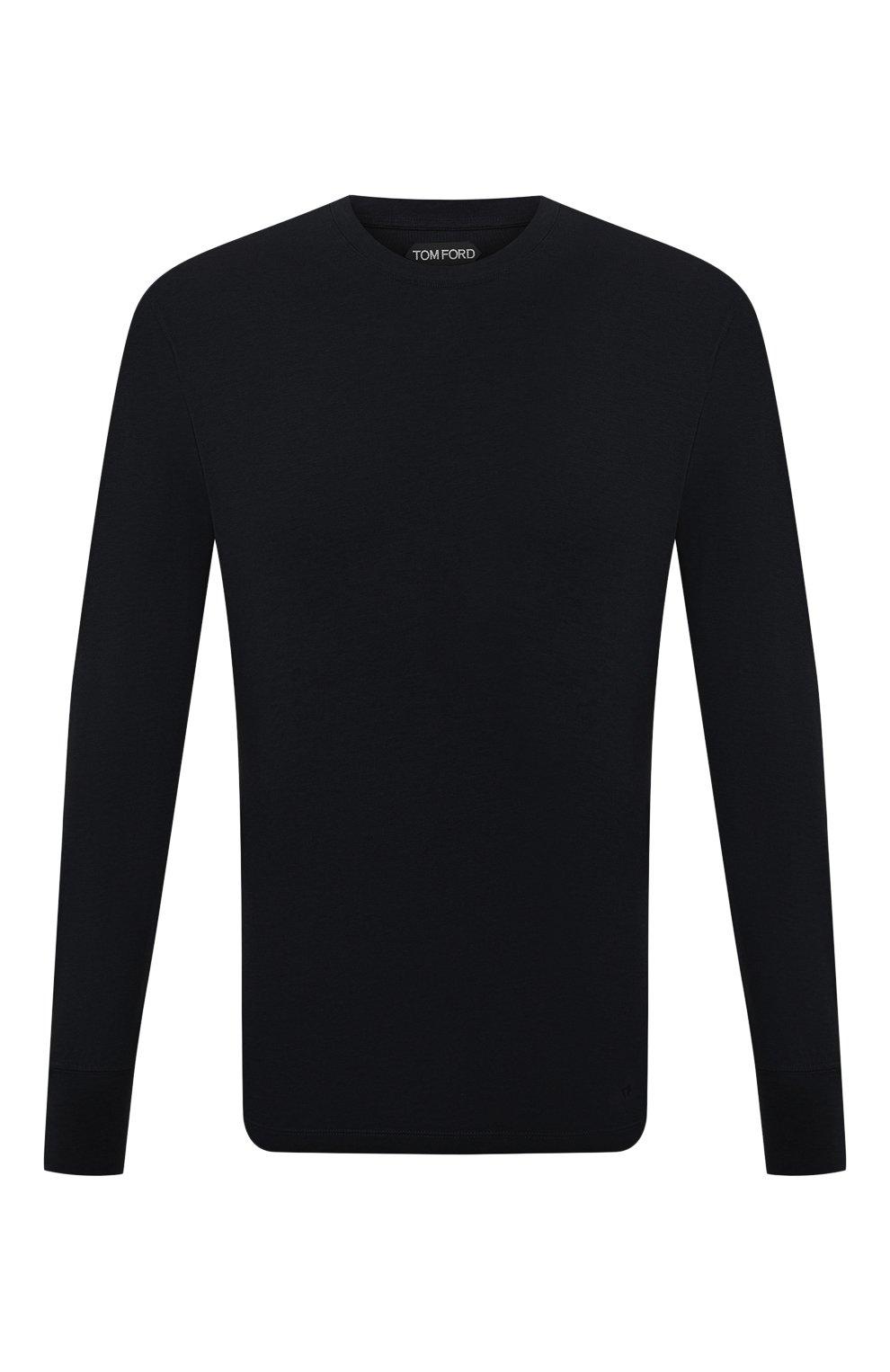 Мужская лонгслив TOM FORD черного цвета, арт. BW229/TFJ972 | Фото 1
