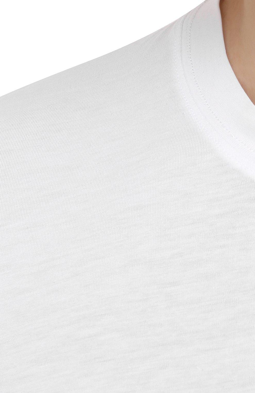 Мужская лонгслив TOM FORD белого цвета, арт. BW229/TFJ972   Фото 5