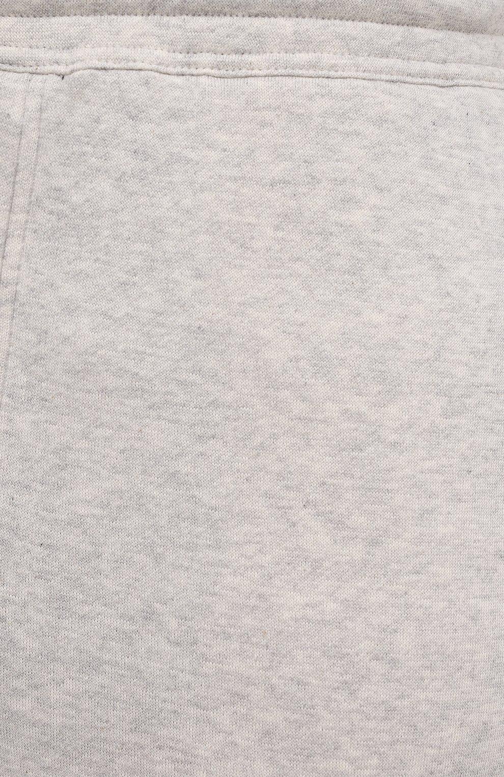 Мужские хлопковые джоггеры TOM FORD светло-серого цвета, арт. BW265/TFJ208 | Фото 5