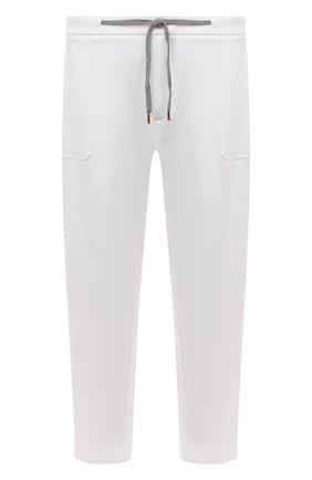 Мужские брюки из вискозы MARCO PESCAROLO белого цвета, арт. BAIA/4362 | Фото 1