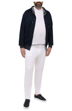 Мужские брюки из вискозы MARCO PESCAROLO белого цвета, арт. BAIA/4362 | Фото 2