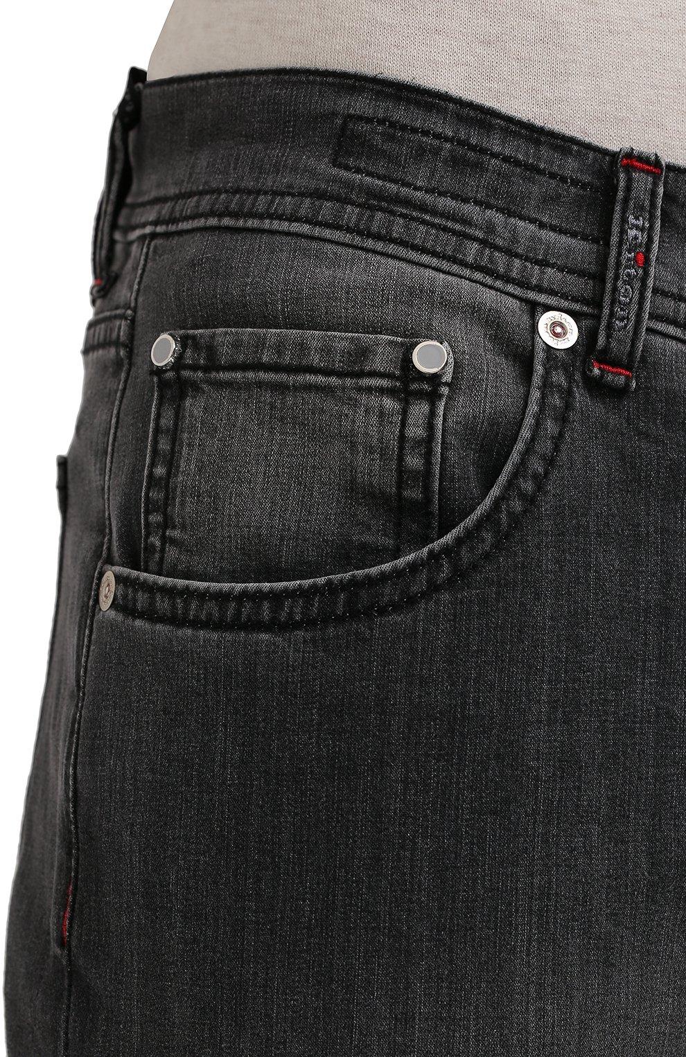 Мужские джинсы KITON серого цвета, арт. UPNJS/J06T94   Фото 5