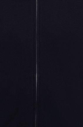 Мужской хлопковая толстовка BRUNELLO CUCINELLI темно-синего цвета, арт. M0T159072G | Фото 5