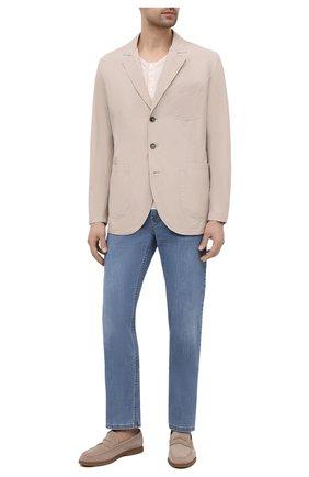 Мужская куртка BRUNELLO CUCINELLI светло-бежевого цвета, арт. MD4796165 | Фото 2