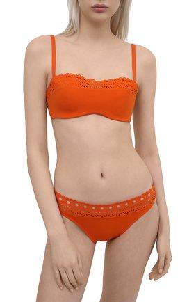Женский плавки-бикини LISE CHARMEL оранжевого цвета, арт. ABA0415 | Фото 2
