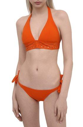Женский плавки-бикини LISE CHARMEL оранжевого цвета, арт. ABA0115 | Фото 2