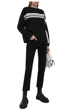 Женский свитшот BOGNER черного цвета, арт. 86096786   Фото 2