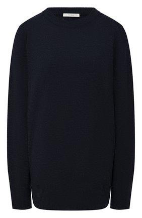 Женский свитер из шерсти и кашемира THE ROW темно-синего цвета, арт. 5582Y184 | Фото 1