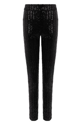 Женские брюки с пайетками ISABEL MARANT черного цвета, арт. PA1923-21E030I/T0DIZ   Фото 1