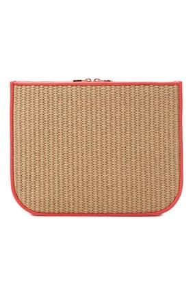 Женская сумка my way p LORO PIANA красного цвета, арт. FAL6440 | Фото 1 (Материал: Текстиль; Ремень/цепочка: На ремешке; Размер: small; Сумки-технические: Сумки через плечо)