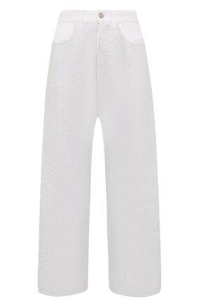Женские джинсы GOLDEN GOOSE DELUXE BRAND серебряного цвета, арт. GWP00107.P000463 | Фото 1