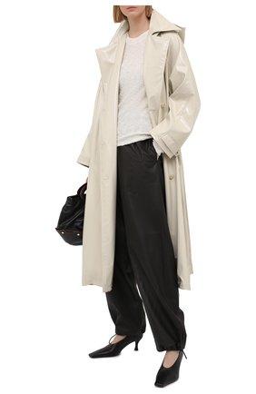 Женский хлопковый пуловер PROENZA SCHOULER WHITE LABEL белого цвета, арт. WL2127572-KC085 | Фото 2