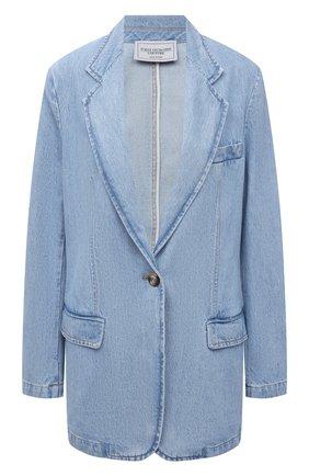 Женский джинсовый жакет FORTE DEI MARMI COUTURE голубого цвета, арт. 21SF9450 | Фото 1