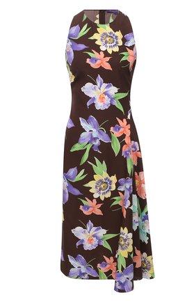Женское шелковое платье RALPH LAUREN разноцветного цвета, арт. 290840870 | Фото 1