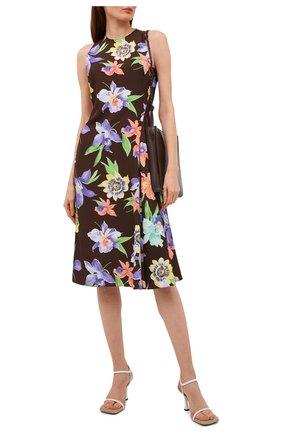 Женское шелковое платье RALPH LAUREN разноцветного цвета, арт. 290840870 | Фото 2