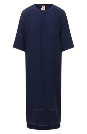 Женское платье из вискозы MARNI темно-синего цвета, арт. ABMA0441A0/TV285 | Фото 1