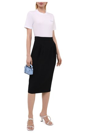 Женская юбка N21 черного цвета, арт. 21E N2M0/C021/5336 | Фото 2