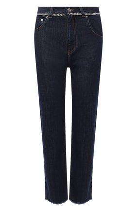 Женские джинсы N21 темно-синего цвета, арт. 21E N2M0/2501/0151   Фото 1