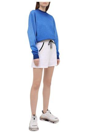 Женский хлопковый свитшот OPENING CEREMONY синего цвета, арт. YWBA007S21FLE002 | Фото 2