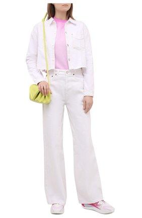Женский хлопковый свитшот OPENING CEREMONY светло-розового цвета, арт. YWBA007S21FLE002   Фото 2
