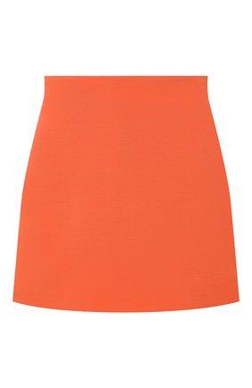 Женская юбка-шорты VALENTINO оранжевого цвета, арт. VB0RA7P06BS | Фото 1