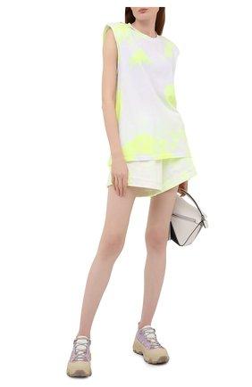 Женские хлопковые шорты FORTE DEI MARMI COUTURE  цвета, арт. 21SF9881 | Фото 2