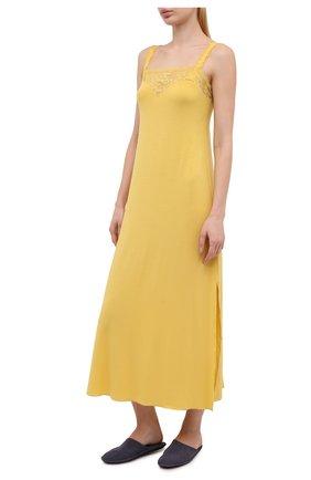 Женская сорочка GIANANTONIO PALADINI желтого цвета, арт. S11TC01/L | Фото 2