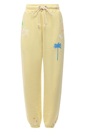 Женские хлопковые джоггеры PALM ANGELS  цвета, арт. PWCH006S21FLE0011969 | Фото 1