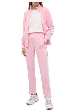 Женский толстовка PALM ANGELS светло-розового цвета, арт. PWBD019S21FAB0053001 | Фото 2