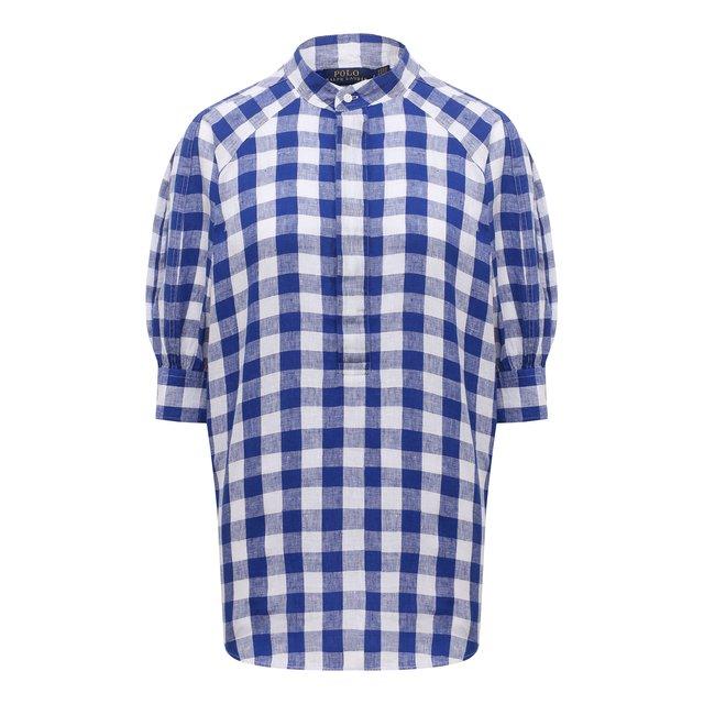 Льняная блузка Polo Ralph Lauren