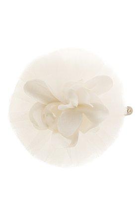 Детская заколка TUTU DU MONDE белого цвета, арт. TDM6297 | Фото 1