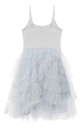 Детское хлопковое платье TUTU DU MONDE голубого цвета, арт. TDM6163/4-11 | Фото 2