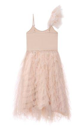 Детское хлопковое платье TUTU DU MONDE розового цвета, арт. TDM6138/4-11 | Фото 2