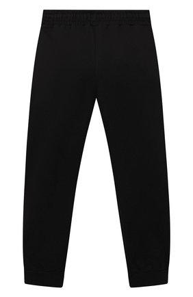 Детские хлопковые джоггеры SPRAYGROUND черного цвета, арт. 21PESPY190   Фото 2
