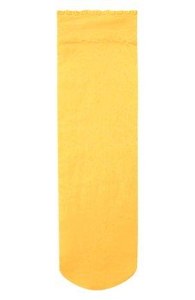 Женские носки FALKE желтого цвета, арт. 41440 | Фото 1