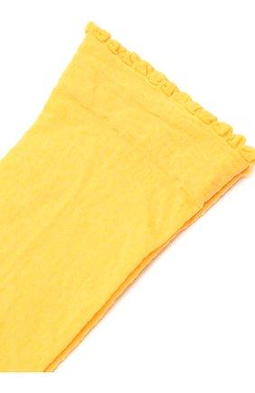 Женские носки FALKE желтого цвета, арт. 41440 | Фото 2