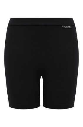 Женские шорты VERSACE черного цвета, арт. A88980/A101049 | Фото 1