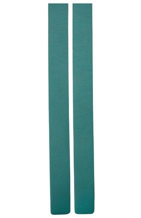 Женский кожаный ремень BOTTEGA VENETA темно-бирюзового цвета, арт. 577040/VMAU1 | Фото 2