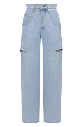 Женские джинсы FORTE DEI MARMI COUTURE синего цвета, арт. 21SF9057 | Фото 1