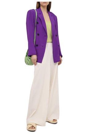 Женский жакет N21 фиолетового цвета, арт. 21E N2S0/L012/5111 | Фото 2