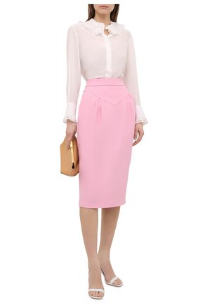 Женская юбка N21 светло-розового цвета, арт. 21E N2M0/C021/5336   Фото 2