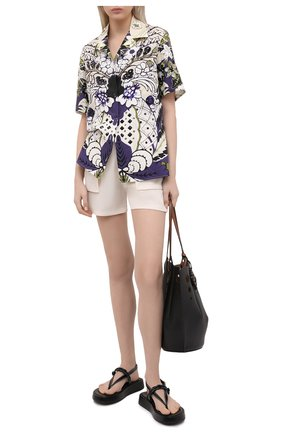 Женские шорты TOM FORD белого цвета, арт. SH0019-FAX185 | Фото 2