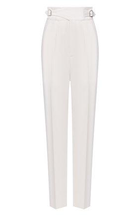 Женские шерстяные брюки RALPH LAUREN белого цвета, арт. 290840150 | Фото 1