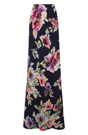Женская юбка из вискозы и шелка RALPH LAUREN разноцветного цвета, арт. 290849797 | Фото 1
