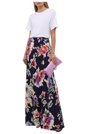 Женская юбка из вискозы и шелка RALPH LAUREN разноцветного цвета, арт. 290849797 | Фото 2