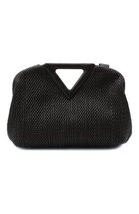 Женская сумка medium point BOTTEGA VENETA темно-коричневого цвета, арт. 658720/V0TB1 | Фото 1