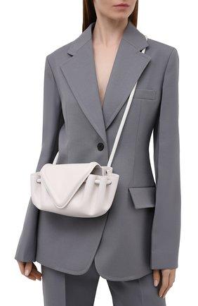 Женская сумка beak small BOTTEGA VENETA белого цвета, арт. 658521/VCP30 | Фото 2