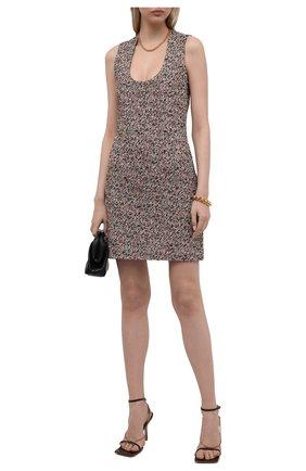 Женское платье BOTTEGA VENETA разноцветного цвета, арт. 656496/V0Q90 | Фото 2