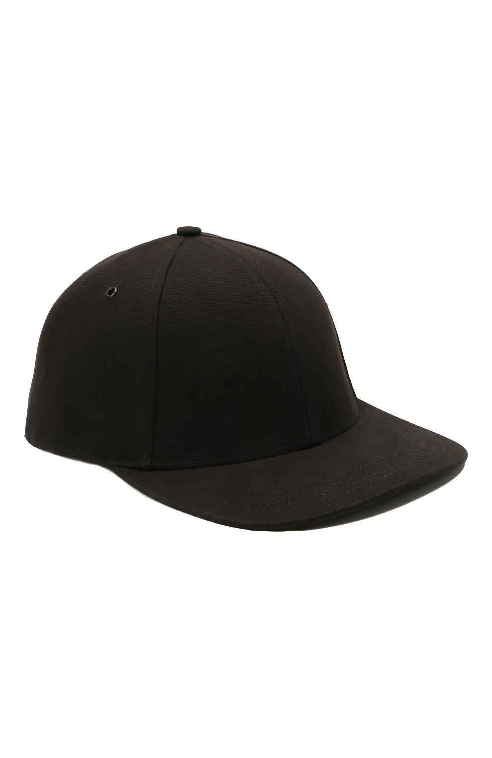 Мужской хлопковая бейсболка KENZO черного цвета, арт. FB55AC401F34 | Фото 1