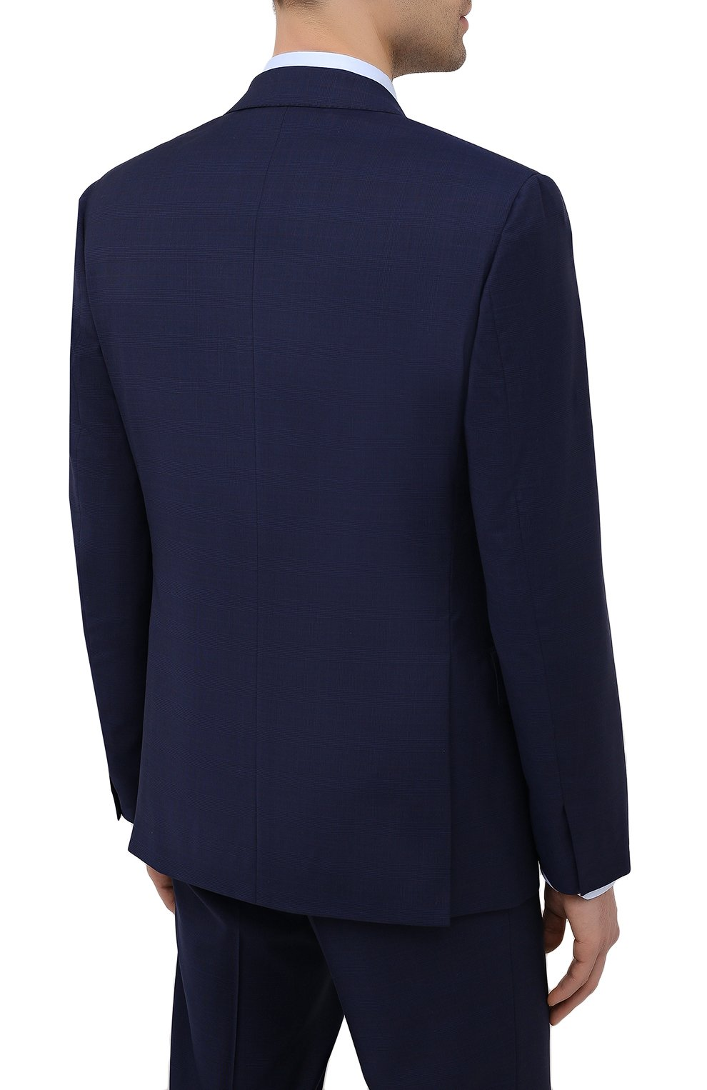 Мужской шерстяной костюм BRIONI синего цвета, арт. RA0B0U/P0A15/PRE C0UTURE | Фото 3